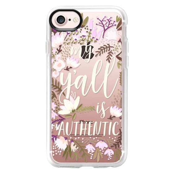 iPhone 7 Cases - My Y'all is Authentic - Spring Palette
