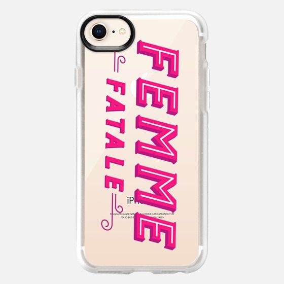 Femme Fatale - Snap Case