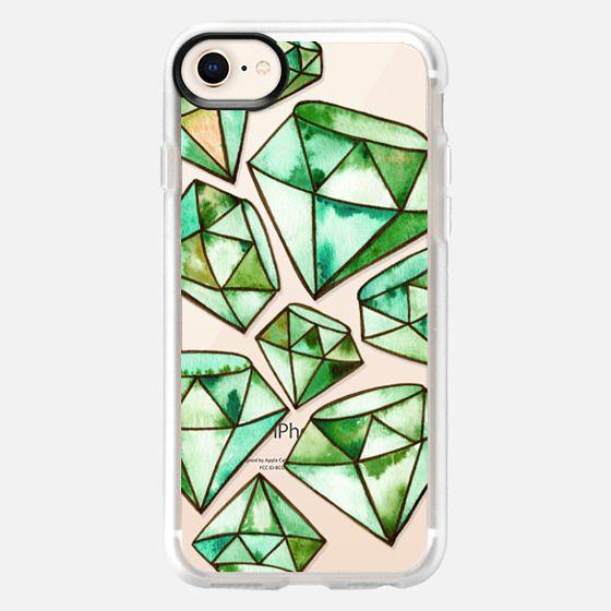 Tattoo Emeralds - Snap Case