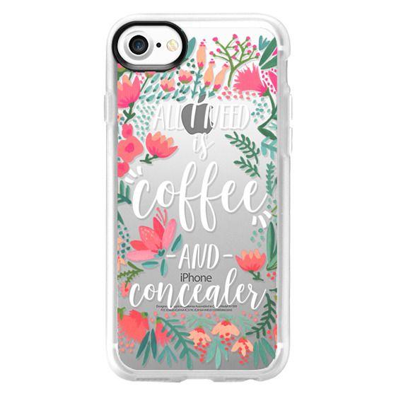 iPhone 7 Cases - Coffee & Concealer - Juicy Palette