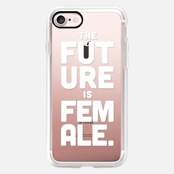 Future is Female - White Ink