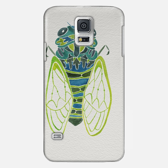 Casetify Samsung Galaxy / LG / HTC / Nexus Phone Case - Watercolor Cicada