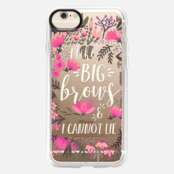 iPhone 6 Case - Big Brows by CatCoq