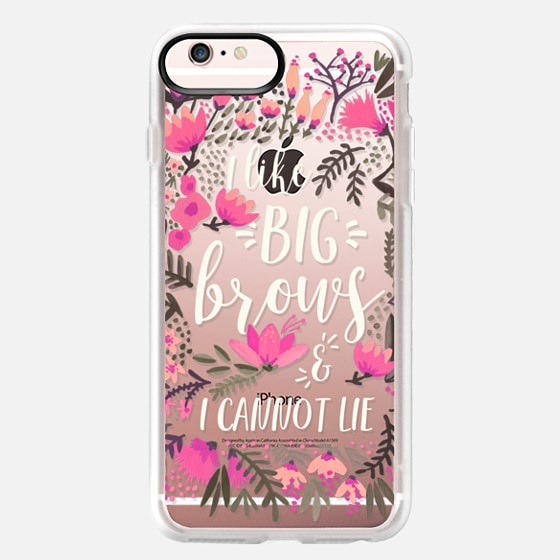 iPhone 6s Plus Case - Big Brows by CatCoq