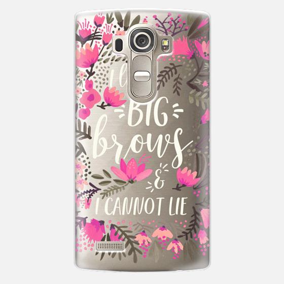 LG G4 Case - Big Brows by CatCoq