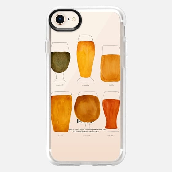 Beer Collection – Transparent - Snap Case