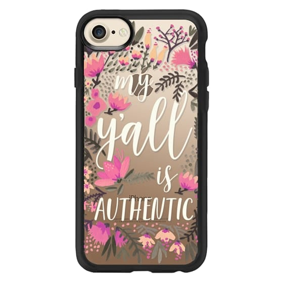 iPhone 7 Cases - My Y'all is Authentic - Vintage Palette