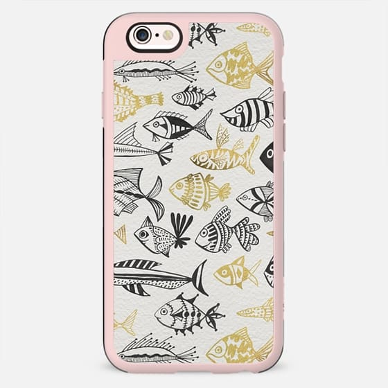 Inked Fish – Gold & Black - New Standard Case