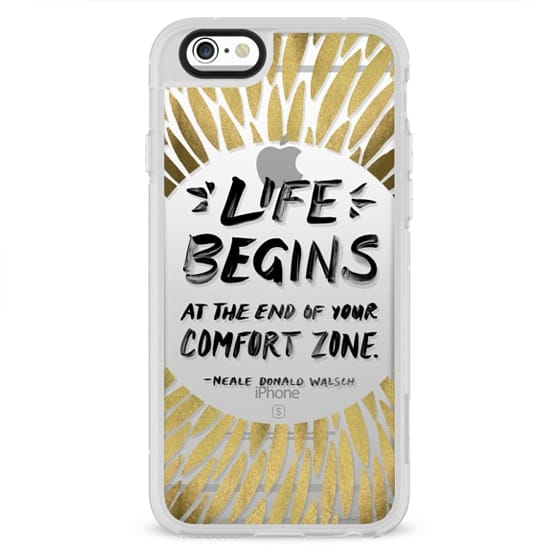 iPhone 6s Cases - Life Begins – Transparent