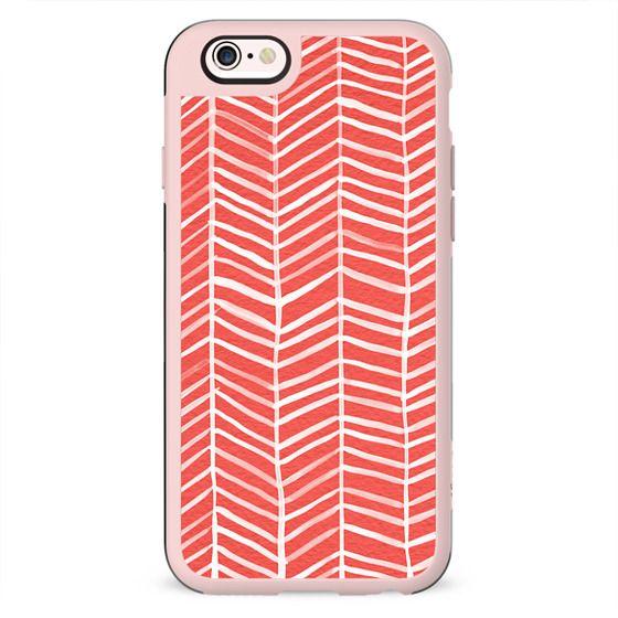 Herringbone – Coral