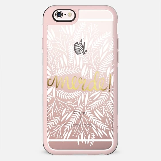 That's Life – White & Gold - New Standard Case