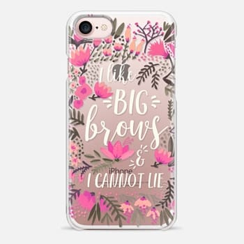 iPhone 7 Case Big Brows by CatCoq