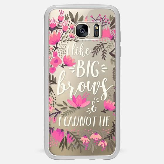 Galaxy S7 Edge Case - Big Brows by CatCoq