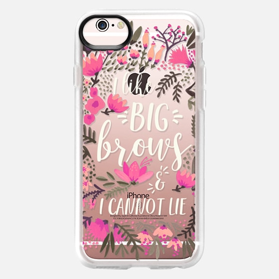 iPhone 6s Case - Big Brows by CatCoq
