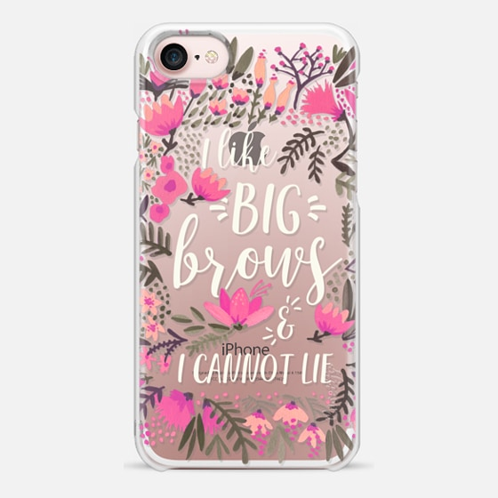 iPhone 7 Case - Big Brows by CatCoq