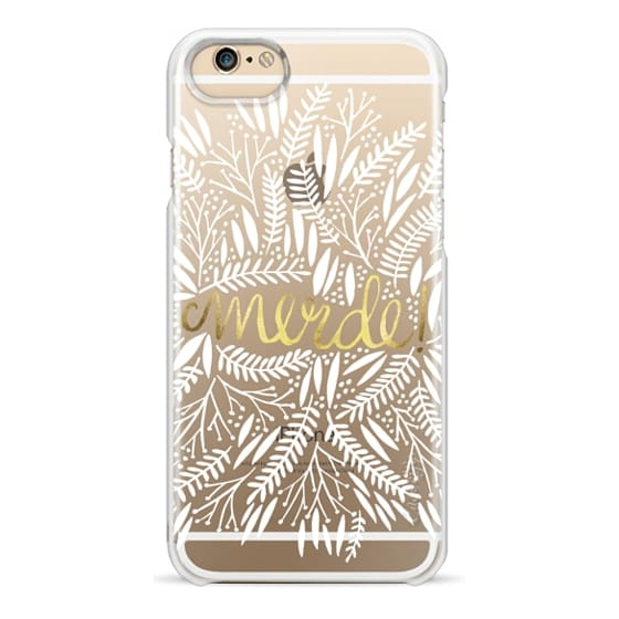 iPhone 6s Cases - That's Life – White & Gold