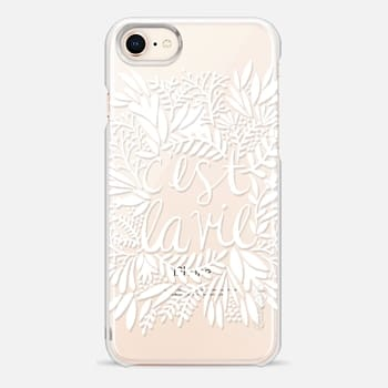 iPhone 8 Case That's Life – White