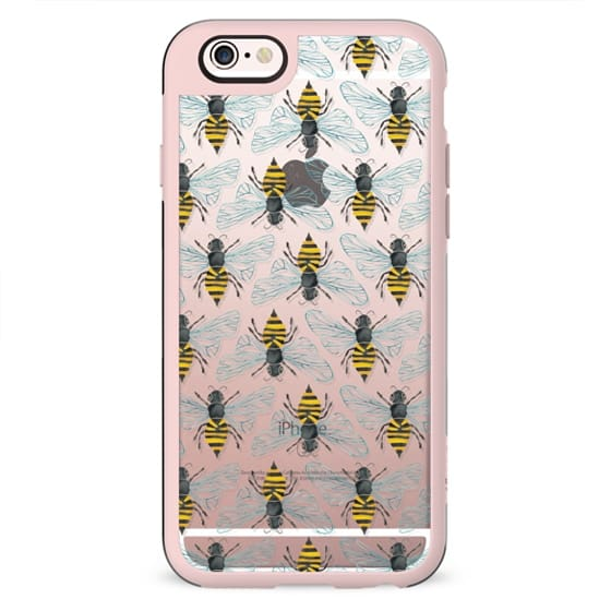 Bumble Bee Pattern (Transparent)