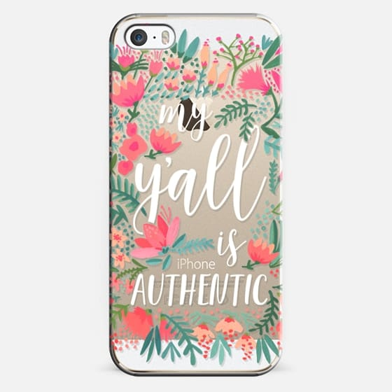 iPhone 5s Case - My Y'all is Authentic by CatCoq