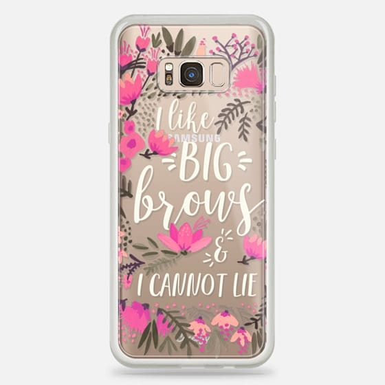 Galaxy S8 Plus Case - Big Brows by CatCoq