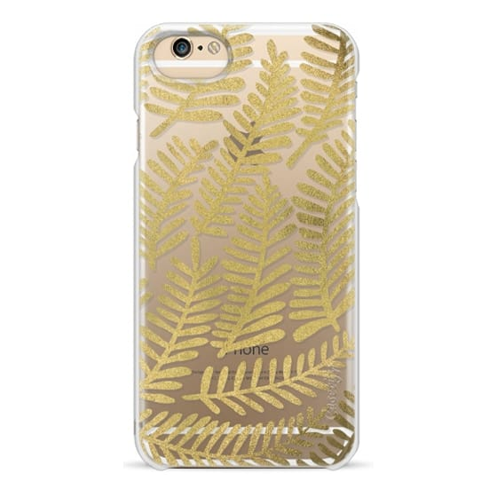iPhone 6 Cases - Gold Fronds