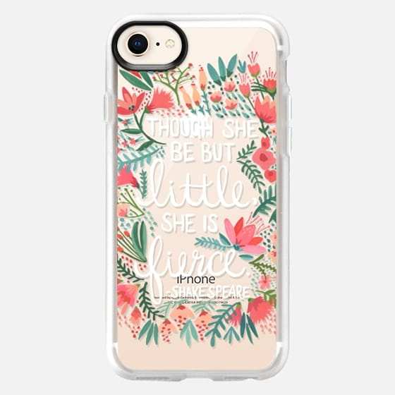 Little & Fierce – Transparent - Snap Case