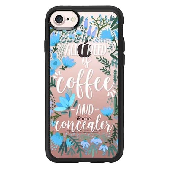 iPhone 7 Cases - Coffee & Concealer by CatCoq