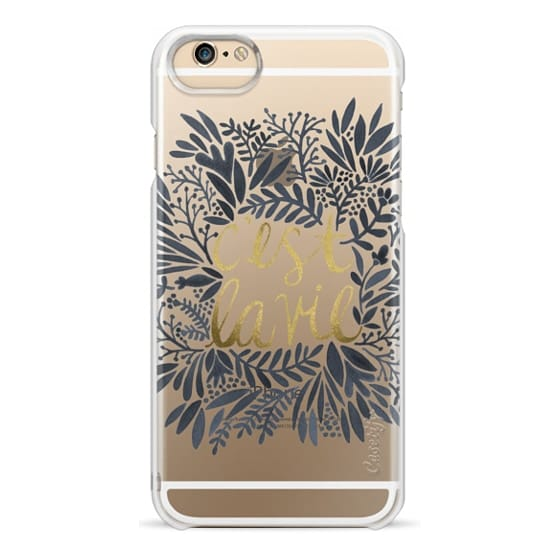 iPhone 6 Cases - That's Life (Grey & Gold)