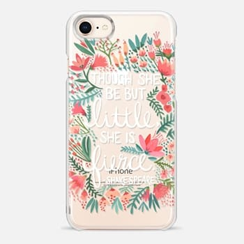 iPhone 8 Case Little & Fierce – Transparent