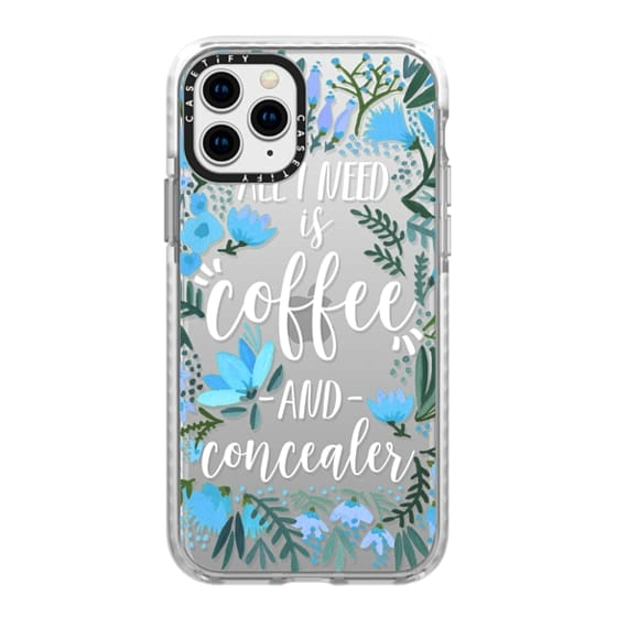 iPhone 11 Pro Cases - Coffee & Concealer by CatCoq