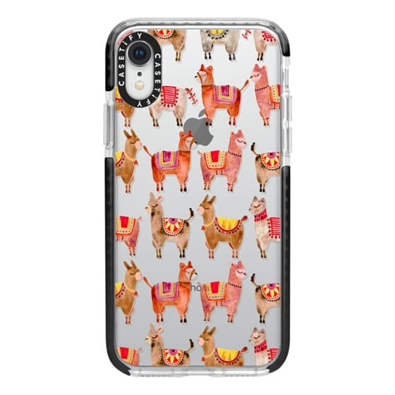 iPhone XR Cases - Alpacas – Transparent