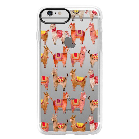 iPhone 6 Plus Cases - Alpacas – Transparent