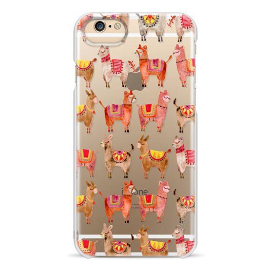 iPhone 6 Cases - Alpacas – Transparent