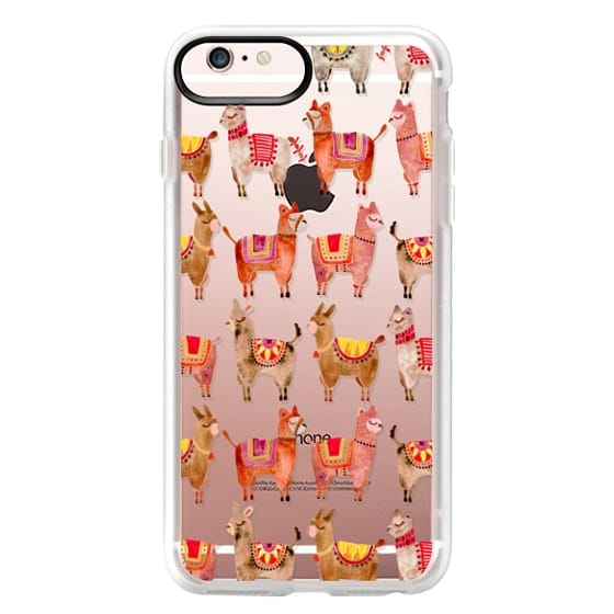 iPhone 6s Plus Cases - Alpacas – Transparent