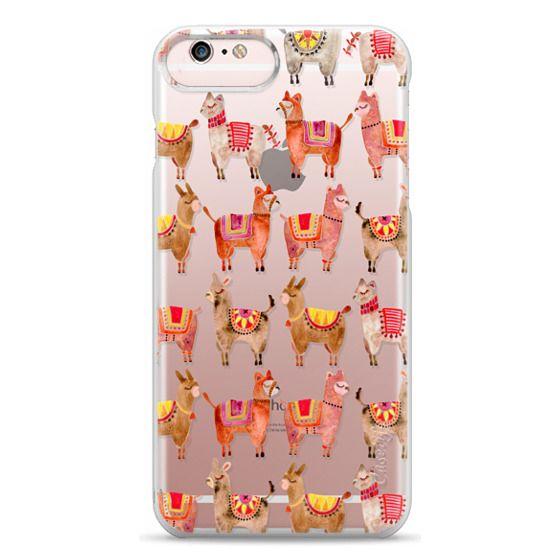 iPhone 6s Plus Cases - Alpacas – Transparent