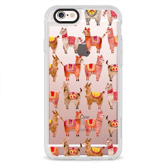 iPhone 4 Cases - Alpacas – Transparent
