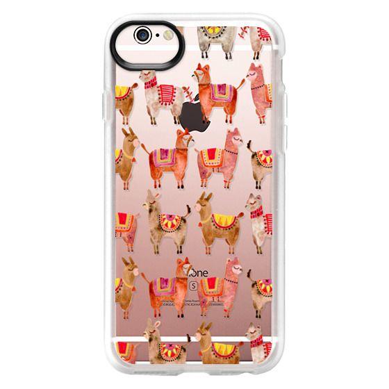 iPhone 6s Cases - Alpacas – Transparent