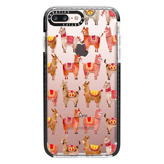 iPhone 7 Plus Cases - Alpacas – Transparent
