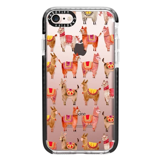 iPhone 7 Cases - Alpacas – Transparent