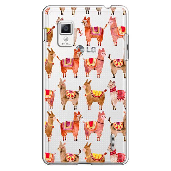 Optimus G Cases - Alpacas – Transparent