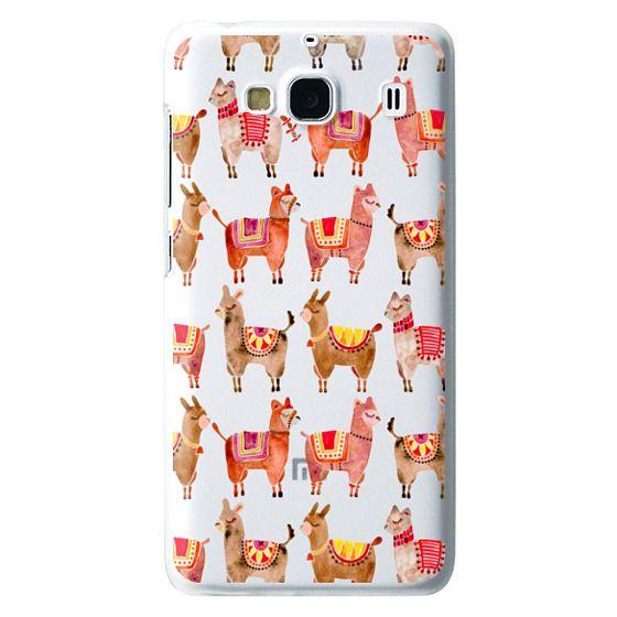 Redmi 2 Cases - Alpacas – Transparent
