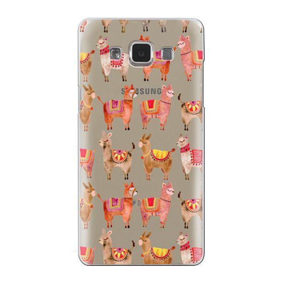 Samsung Galaxy A5 Cases - Alpacas – Transparent