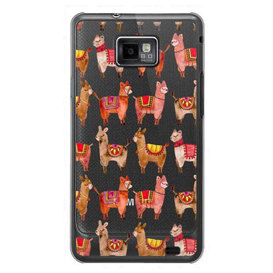 Samsung Galaxy S2 Cases - Alpacas – Transparent