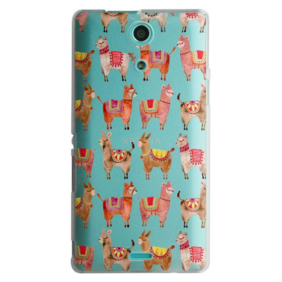 Sony Zr Cases - Alpacas – Transparent