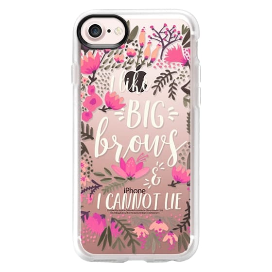 iPhone 7 Cases - Big Brows by CatCoq