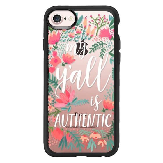 iPhone 7 Cases - My Y'all is Authentic by CatCoq