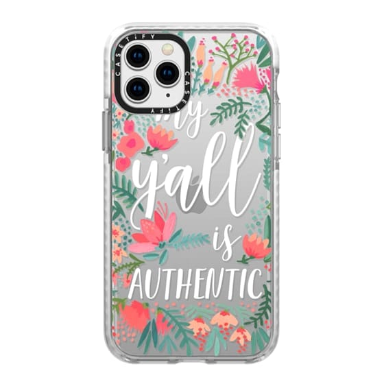 iPhone 11 Pro Cases - My Y'all is Authentic by CatCoq