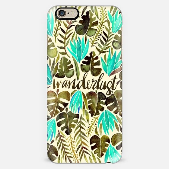 Tropical Wanderlust – Turquoise & Olive -