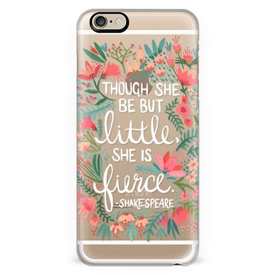 Little & Fierce – Transparent