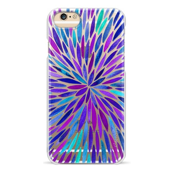 iPhone 6s Cases - Purple Watercolor Burst – Transparent